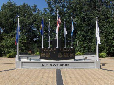 King Veteran's Memorials