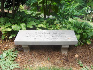 Limestone Bench